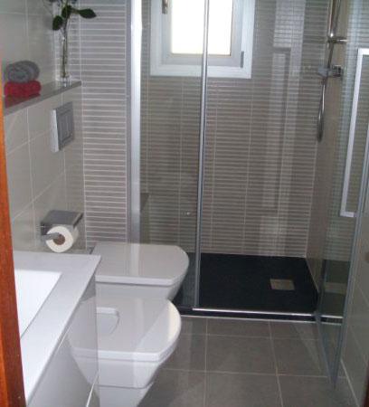 Reforma integral de ba os tu ducha for Banos modernos para espacios pequenos